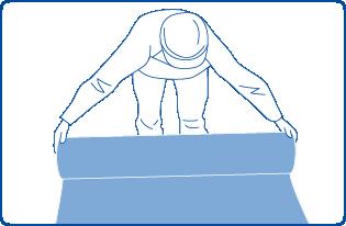 1.フロアシート敷き詰め